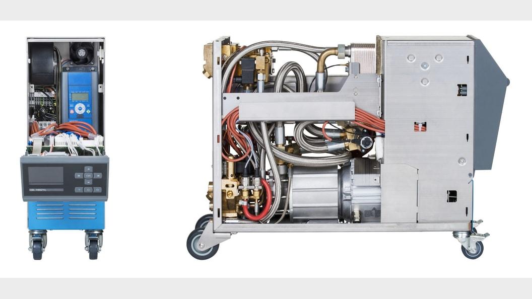 Temperiergerät HB-Therm Thermo-5 mit drehzahlgeregelter Pumpe