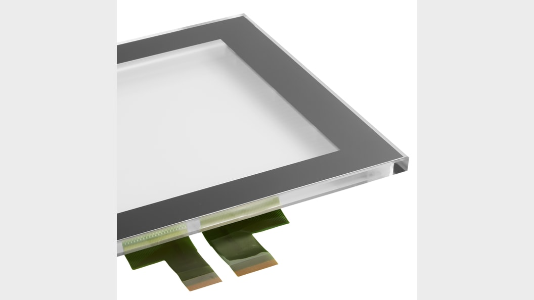 Optical Bonding verbindet Touch Sensoren (PCAPs) mit Glas- & Kunststofffronten