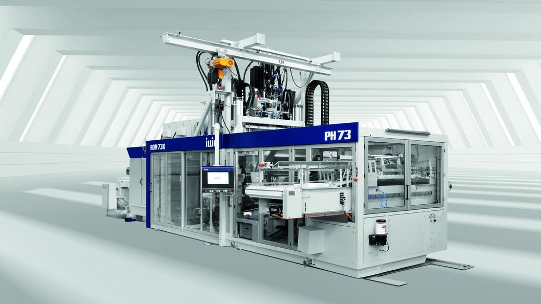 The new ILLIG pressure forming machine IC-RDM73k