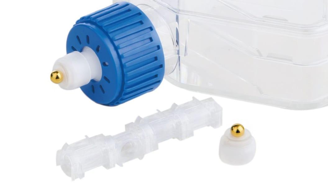 Patentierter Verschluss für Zellkulturflaschen