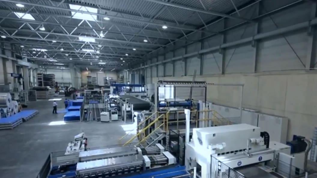 Modernste Technik und Logistikverfahren