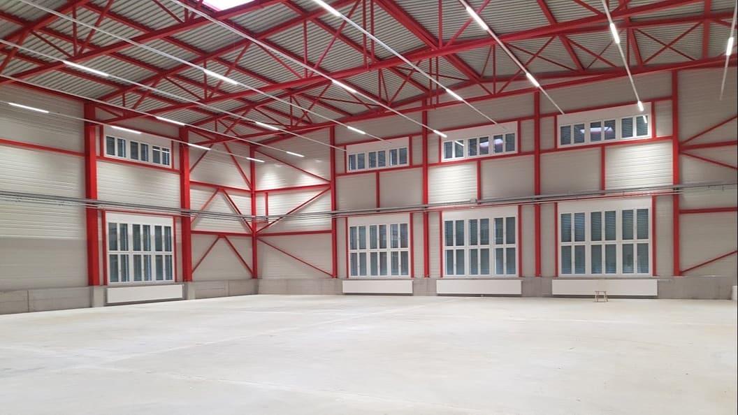 Ecoparts Produktionshalle