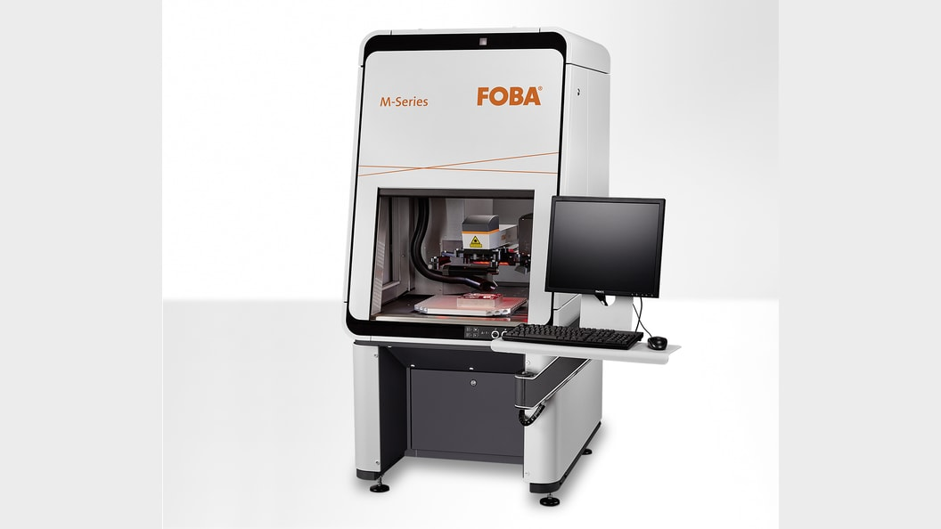 Laser marking machine M2000-P with vision system IMP