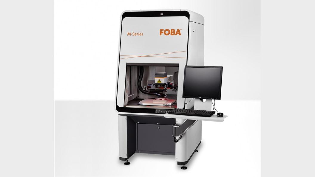 Laserbeschriftungsanlage M2000-P mit patentiertem Kamerasystem IMP