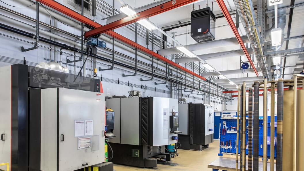 Luftreinigungssysteme von Zehnder unterstützen Oerlikon dabei, seine Marktführerschaft auszubauen.