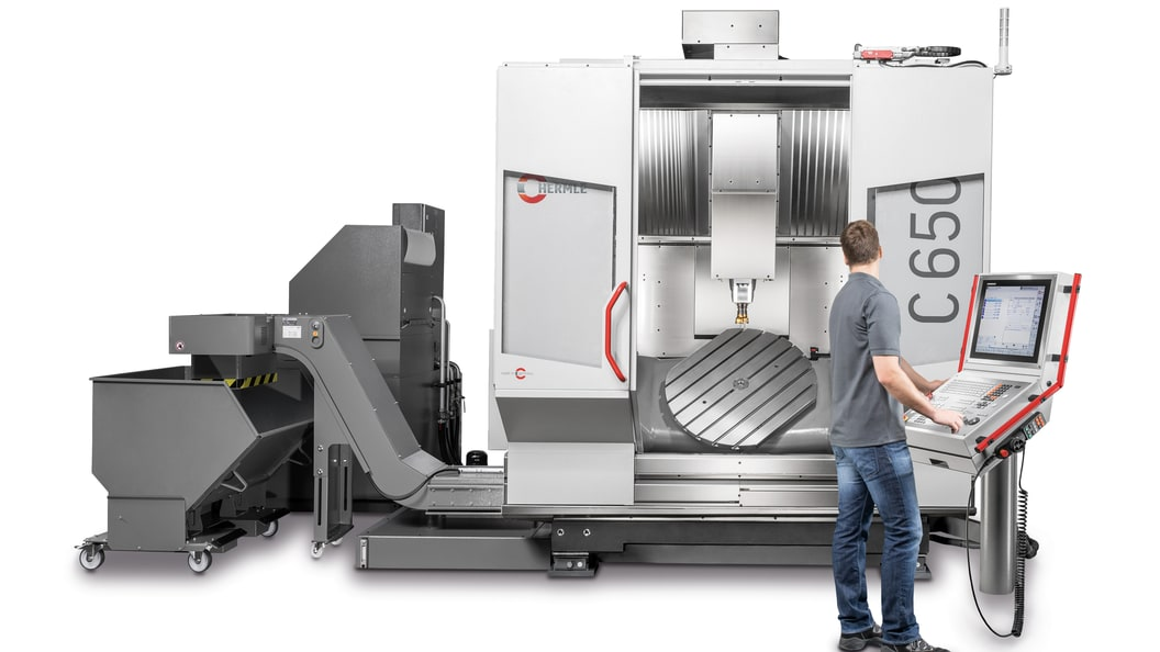 Hermle machining centre C 650