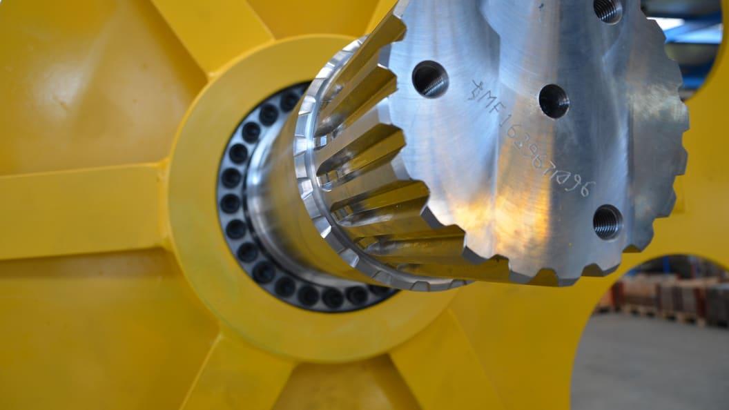 Detail Maschine