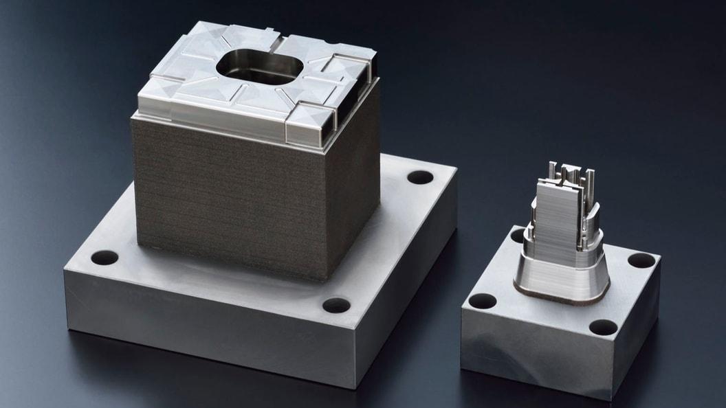 With Pi2-HAM produced mold