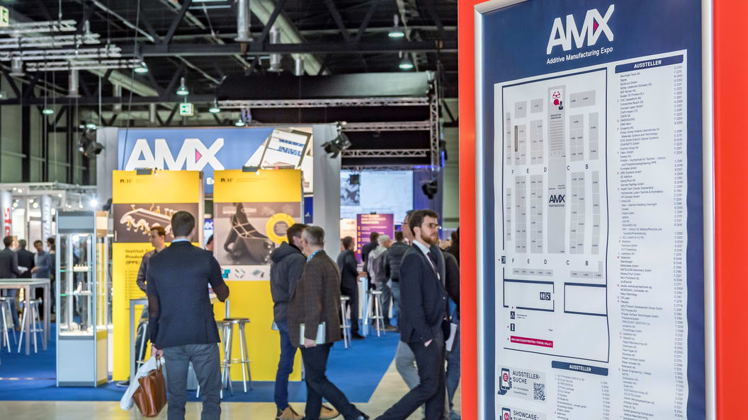 AM Expo from March 12 to 13, 2019 at Messe Luzern