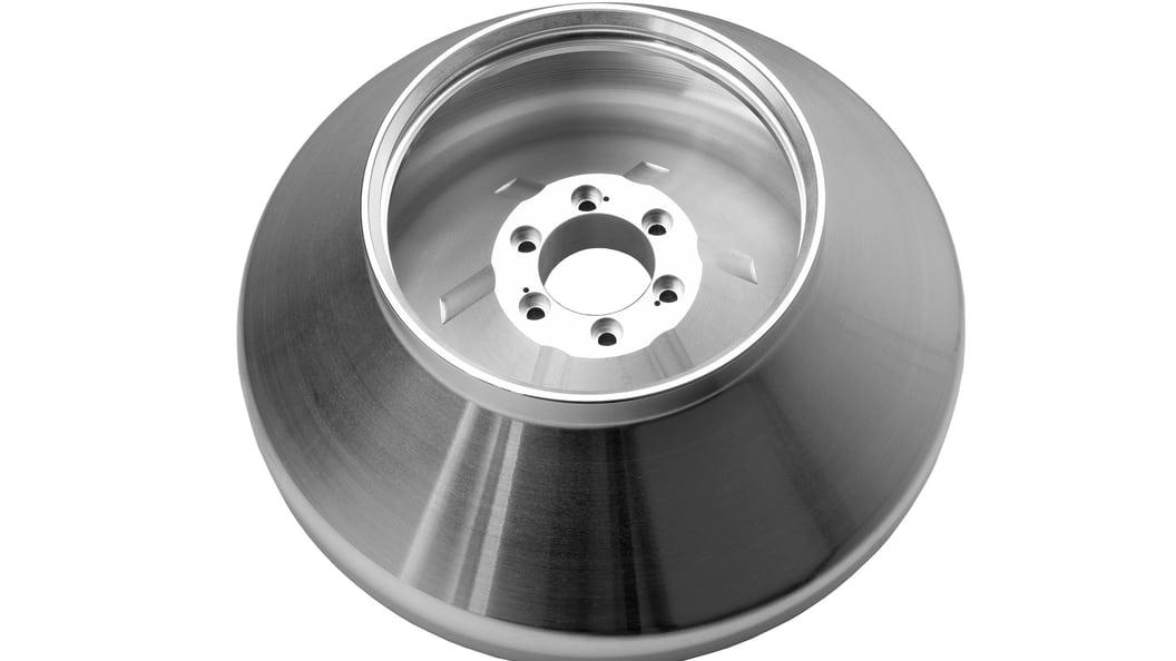Beispiel 1 für anspruchsvolles Aluminiumwerkstück