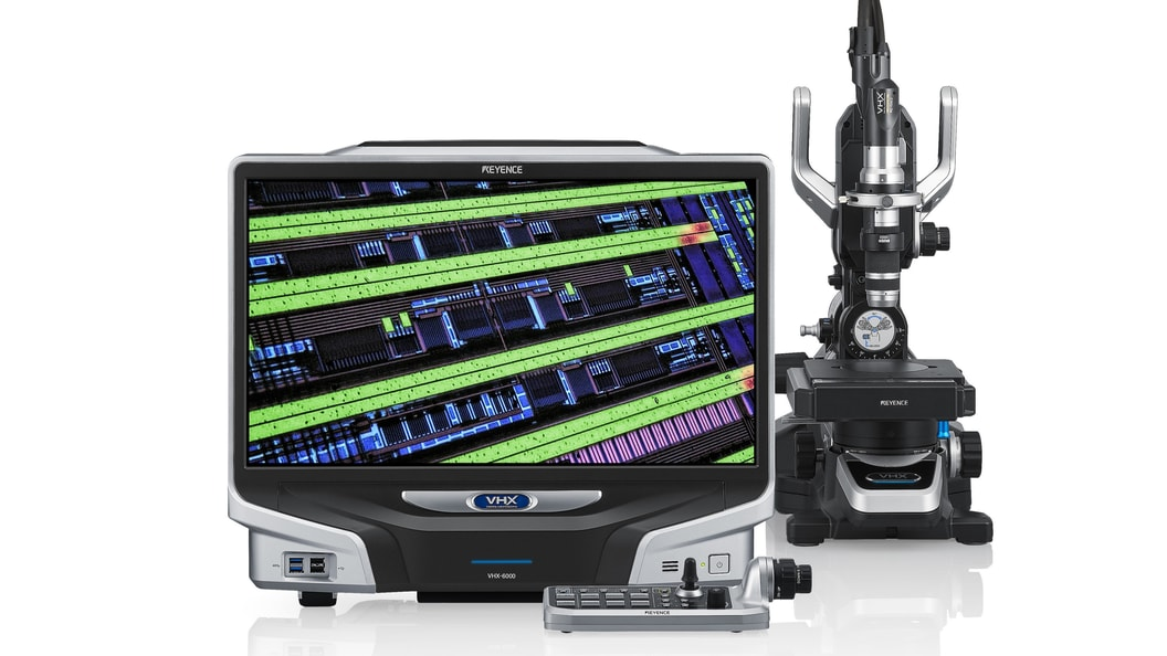 Digitalmikroskop VHX-6000-Serie