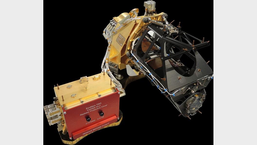 Farb- und Stereo-Oberflächen-Bildgebungssystem - CaSSIS Urheberrecht: CaSSIS Team Universität Bern
