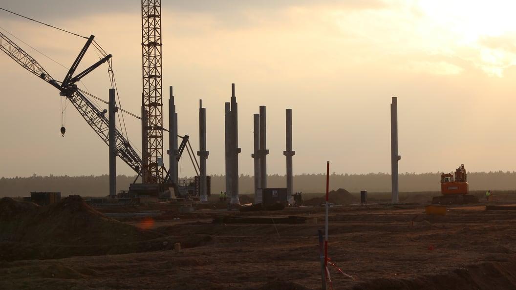Projekt Ypsomed - Baustelle