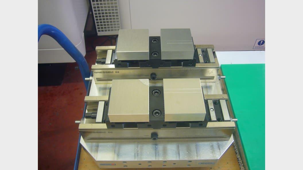 Mehrfach-Spannlösung für die automatisierte Fertigung