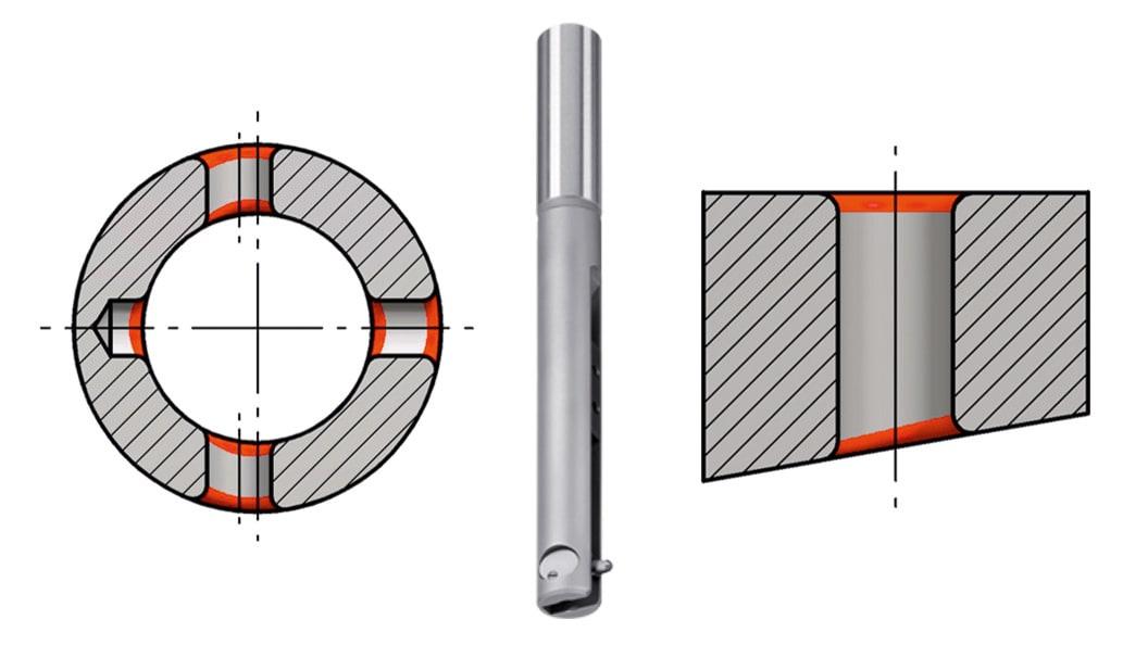 Werkstückzeichnungen typischer COFA-Anwendungen