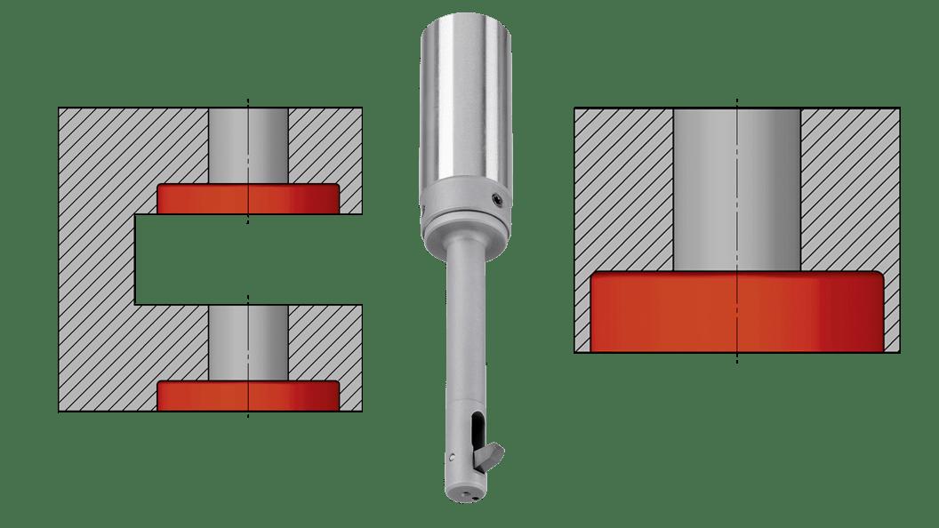 Werkstückzeichnungen typischer BSF-Anwendungen