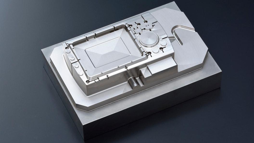 Mit Hybrid Additive Manufacturing gefertigter Formeinsatz.