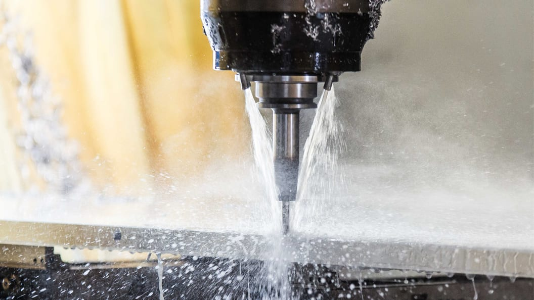Kristallklarer Kühlschmierstoff für eine klare Sicht auf den Bearbeitungsprozess
