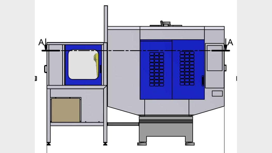 broButler mit Speedio S700X1 - Ansicht von vorne