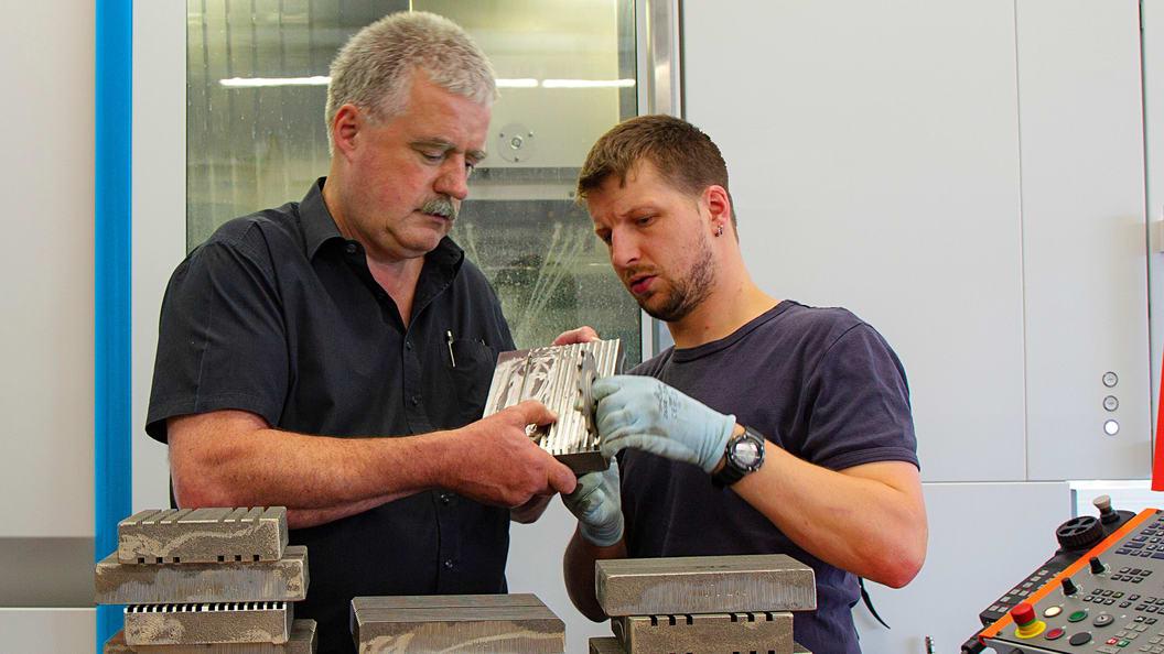 Hubert Westhauser, Zerspanungsexperte mit 45 Jahren Erfahrung, Blaser Swisslube