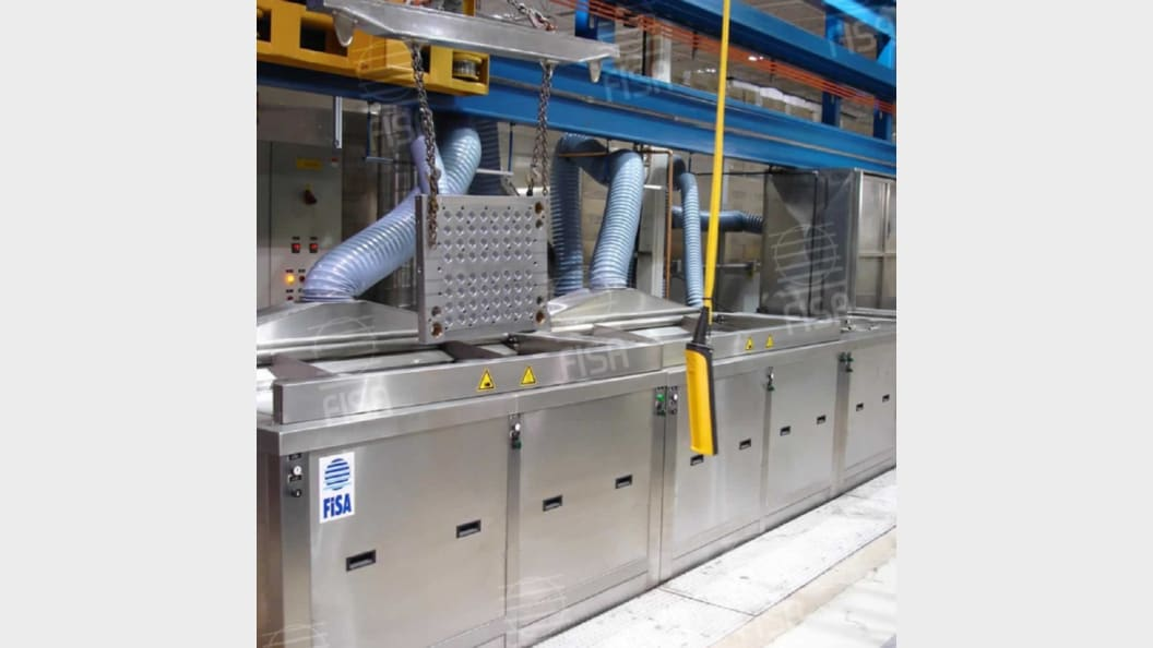 FISA® cleaning system for casting molds.