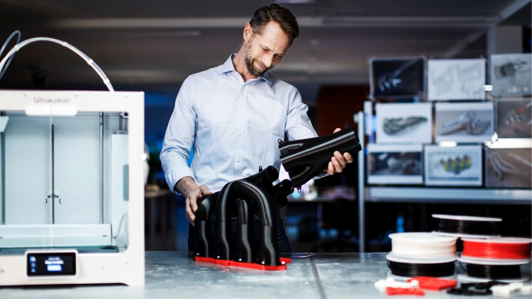 Gain quick access to in-house 3D printing with Ultimaker printers, software and standard profiles