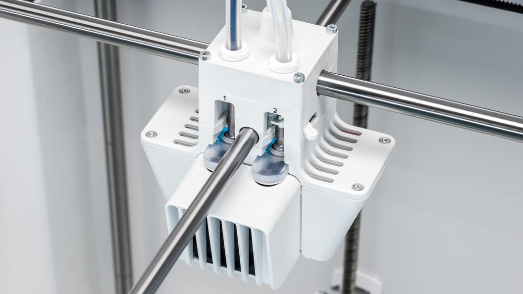 The reliable dual extrusion technology by Ultimaker allows for a great freedom of design