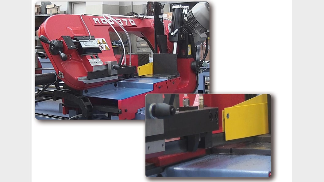 Bandsawing machine