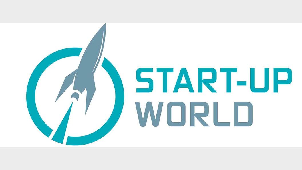 Logo der T4M Start-up World