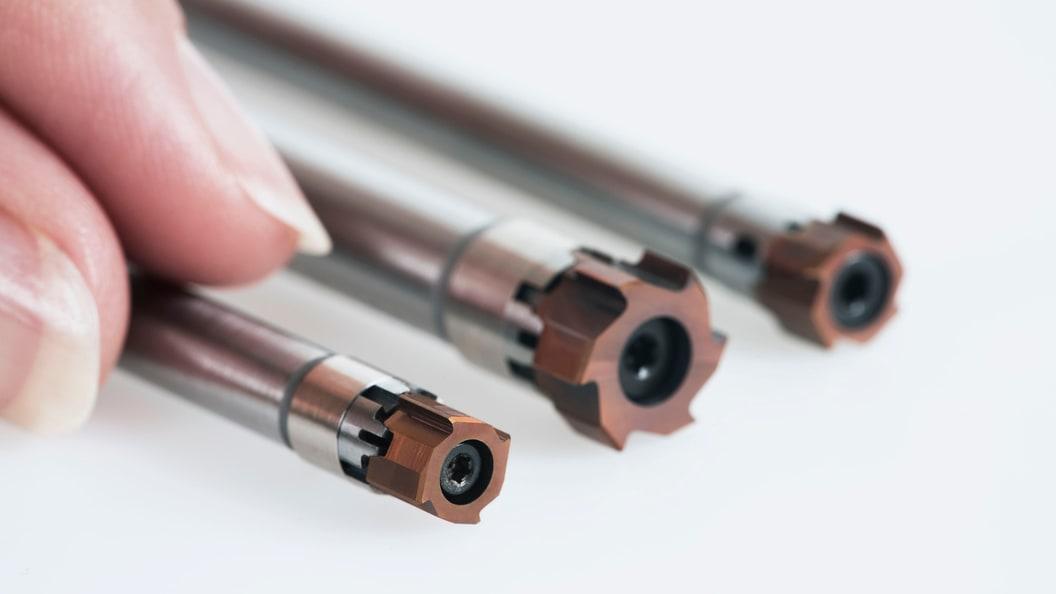 Kleinstes modulares Reibwerkzeug der Welt mit Durchmesser 7.600 mm bis 13.100 mm