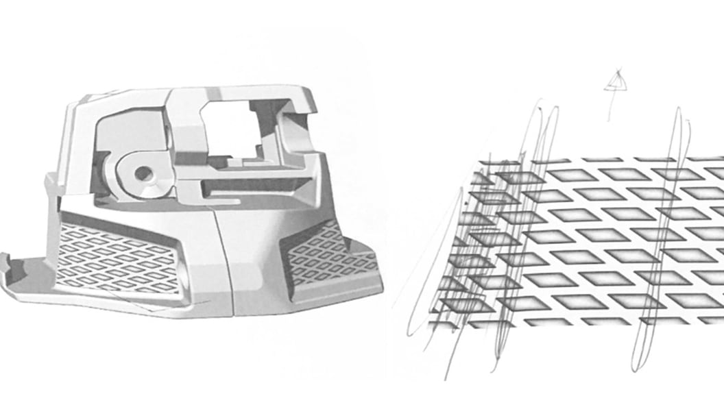 Digital renderings are used to define alignment of the structure. Goal: A harmonious overall picture