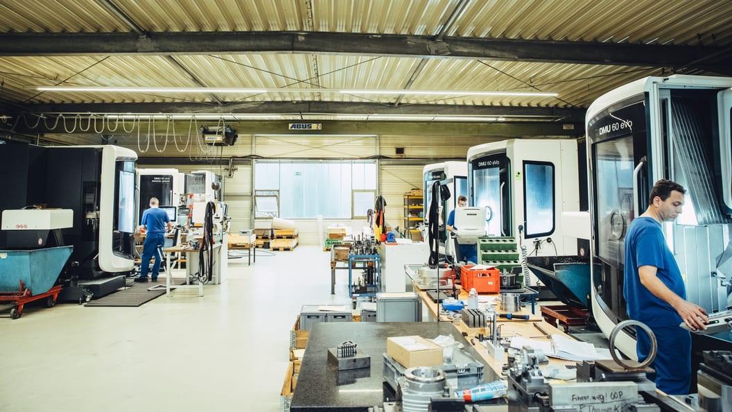 Die vorgegebenen Qualitätskriterien werden während der Produktion mehrfach überprüft.