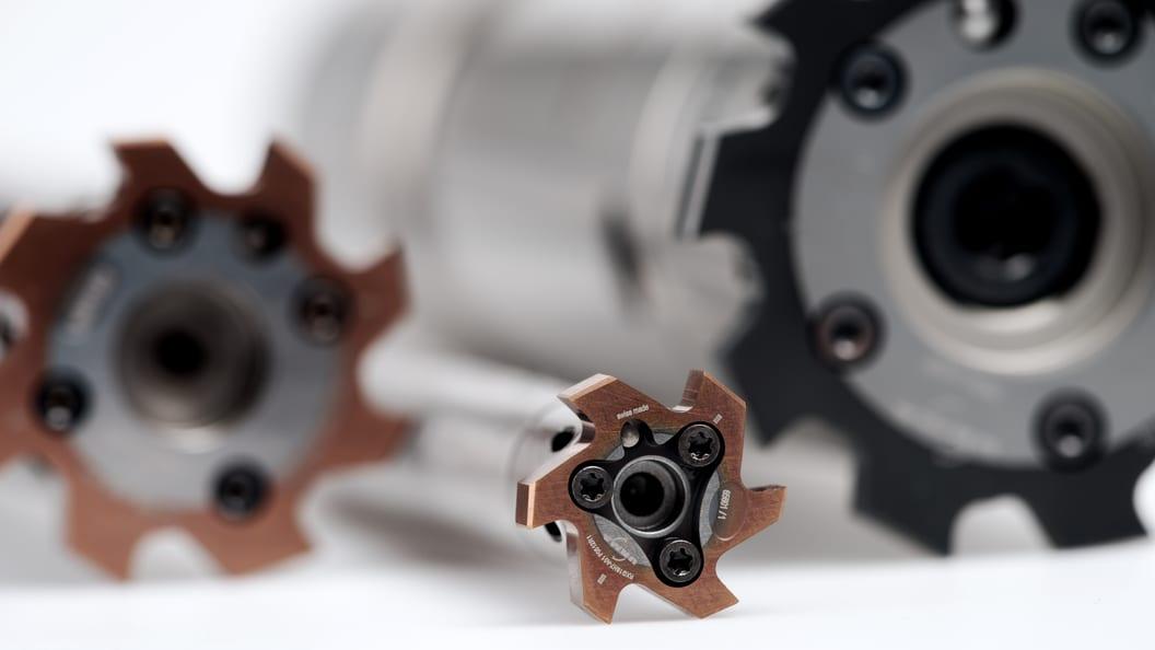 Weltweit einzigartiges modulares Reibwerkzeug mit einem Durchmesser von 11.900 mm bis 140.600 mm