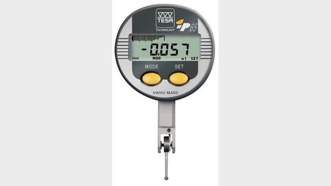 Kalinrierauftrag digitaler Fühlhebelmessgerät TESA TECHNOLOGY