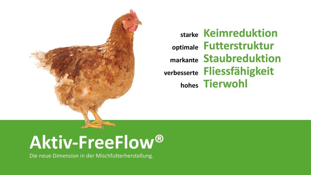 Aktiv-FreeFlow® für Geflügel