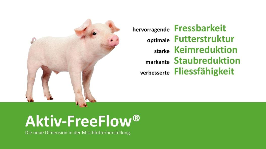 Aktiv-FreeFlow® für Schweine