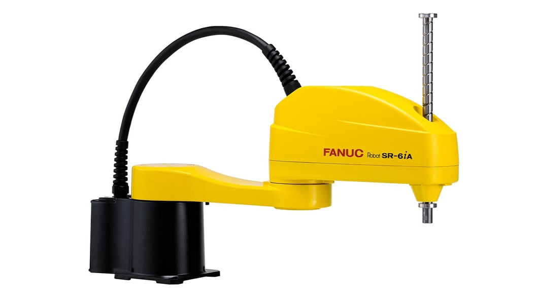 The new FANUC SCARA robot with 6 kg payload