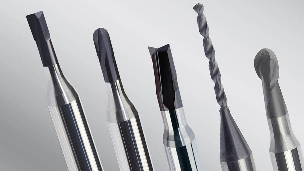IGUANA Kugel-, Torus- und Schaftfräser sowie Spiralbohrer mit laserbearbeiteter scharfer Schneidkant