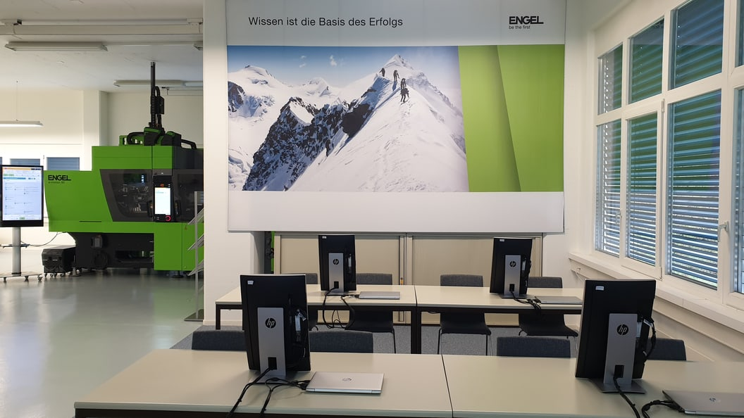 The new training centre of ENGEL Switzerland gives you the opportunity to expand your know-how.