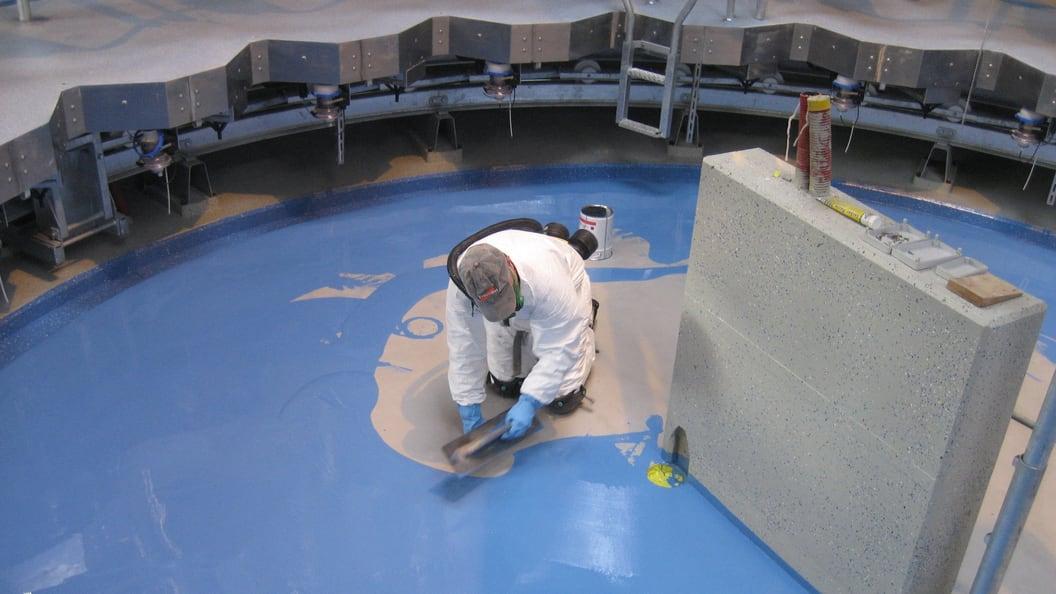 Verbesserte Trittsicherheit und Hygiene mit VENCOMAT Bodenbeschichtungen.
