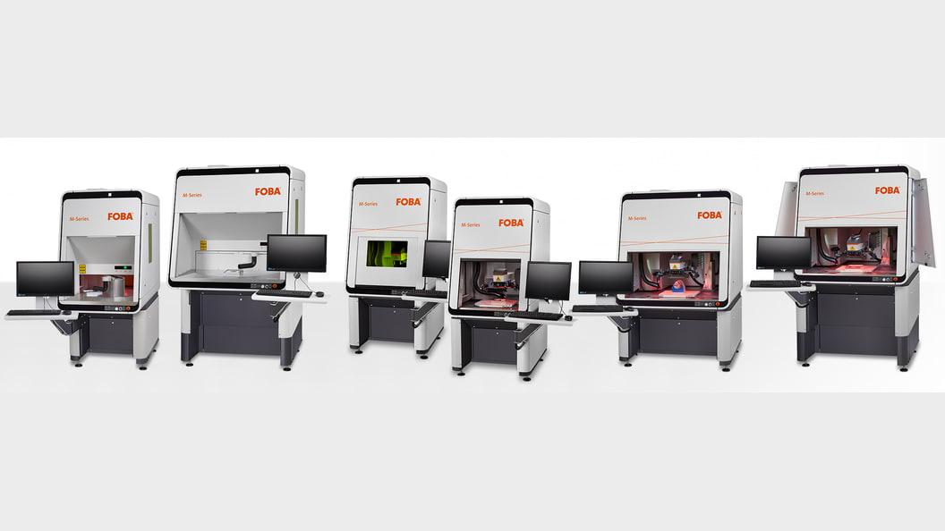 FOBA M-Series laser marking machines