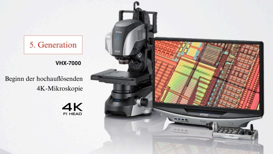 Markt launch: VHX-7000