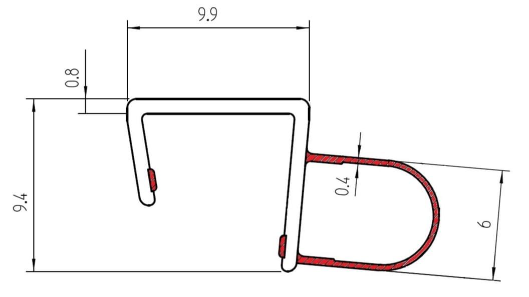 Werkzeugkonzept für filigranes Türprofil