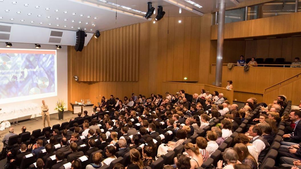 Tagungsort: ETH Zürich, Audimax