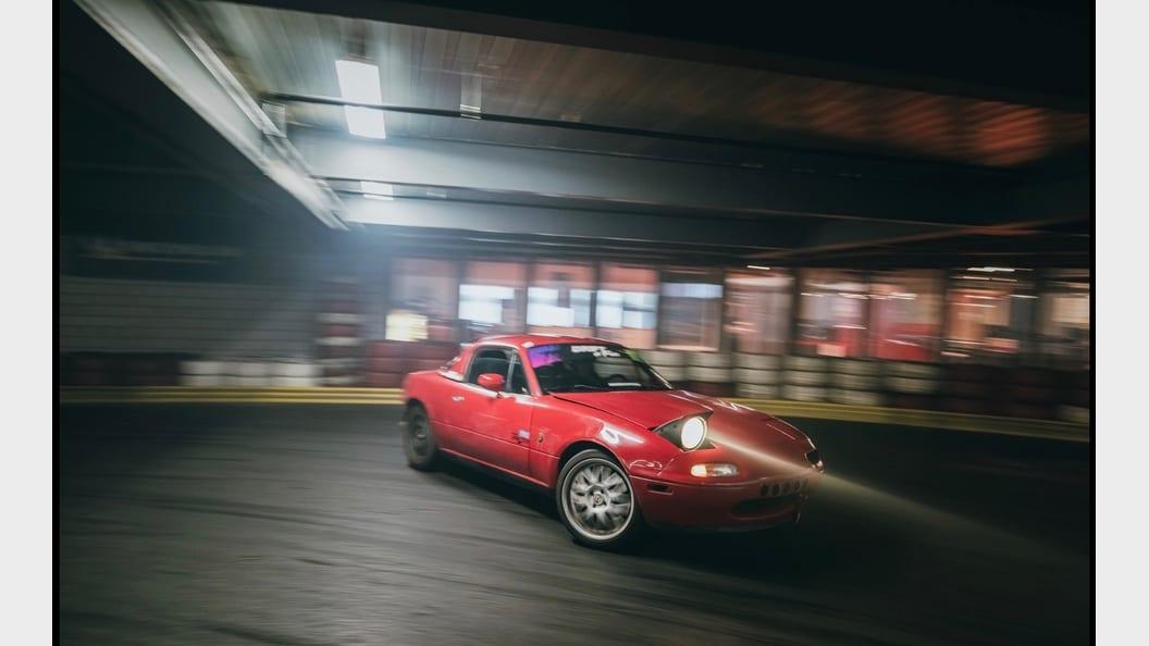 Der Mazda MX-5 im Einsatz