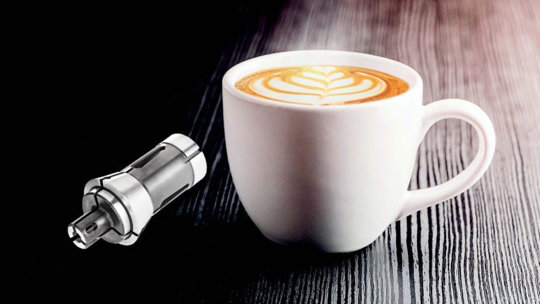 Flube AG produduziert Präzisionsbauteile für Kaffeemahlwerke und setzt dabei auf DIHAWAG!