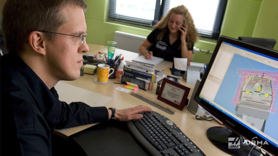 Ralf Merz, Spezialist für Präzisionsteile,  gründete sein eigenes Fertigungsunternehmen.