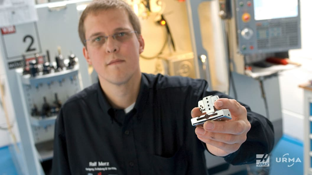 20 years in medical engineering, specialist for precision parts Ralf Merz