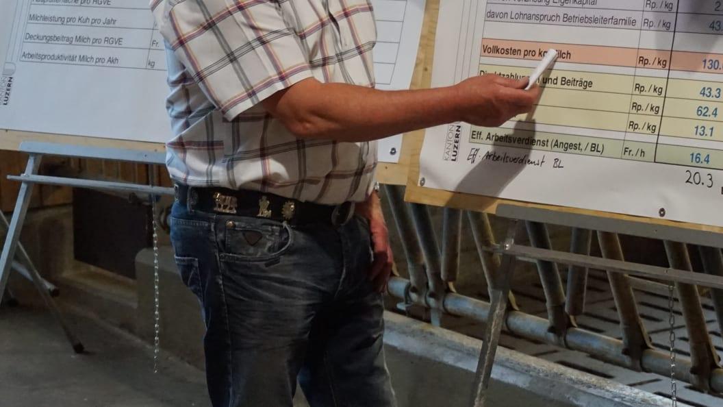 Der Coach vor Ort bei der Beratung und Analyse vom Betrieb
