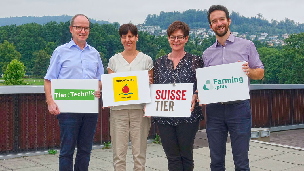 Farming.plus - die digitale Erweiterung der Tier&Technik, Fruchtwelt Bodensee und Suisse Tier